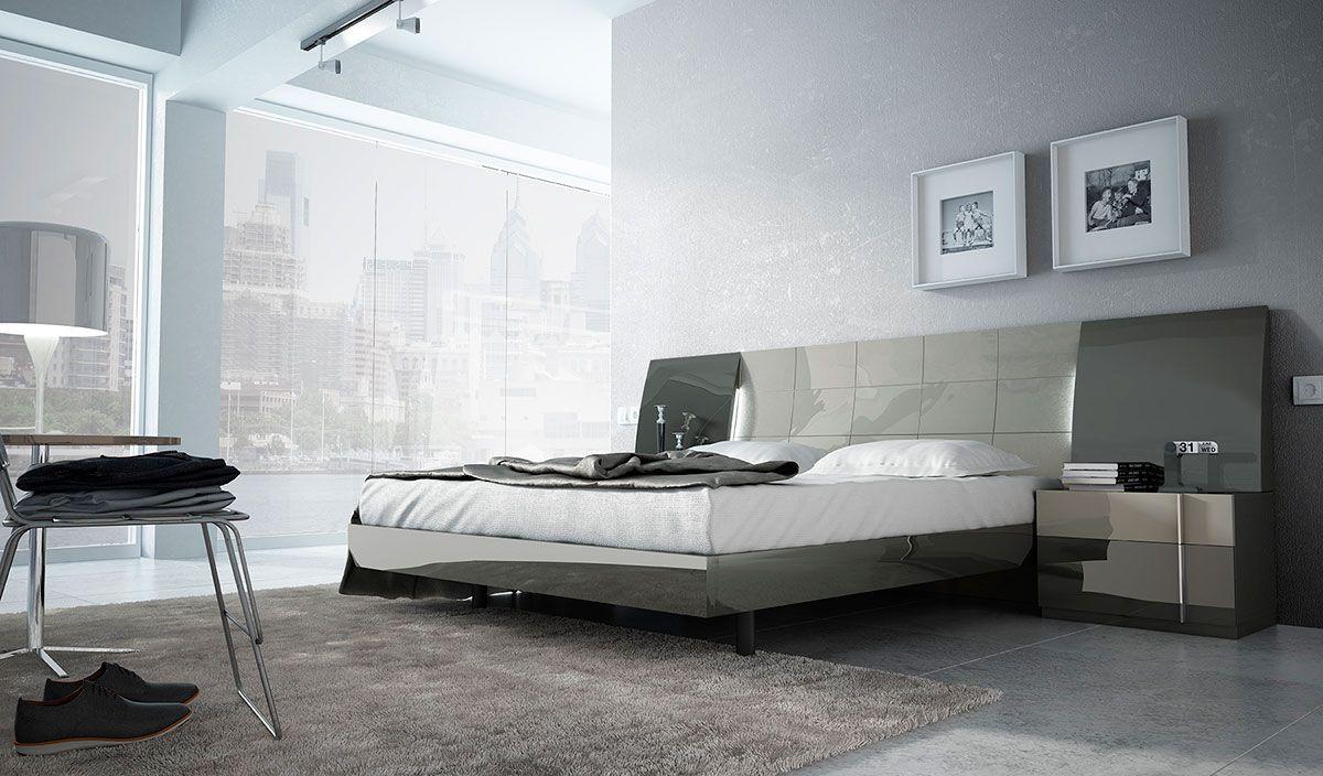 Dormitorios de matrimonio modernos muebles ruiz y gallego - Muebles modernos para habitaciones ...