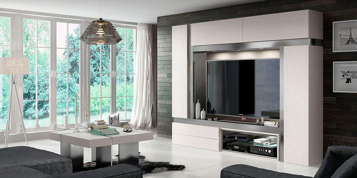 Salones modernos muebles ruiz y gallego for Muebles juveniles la plata