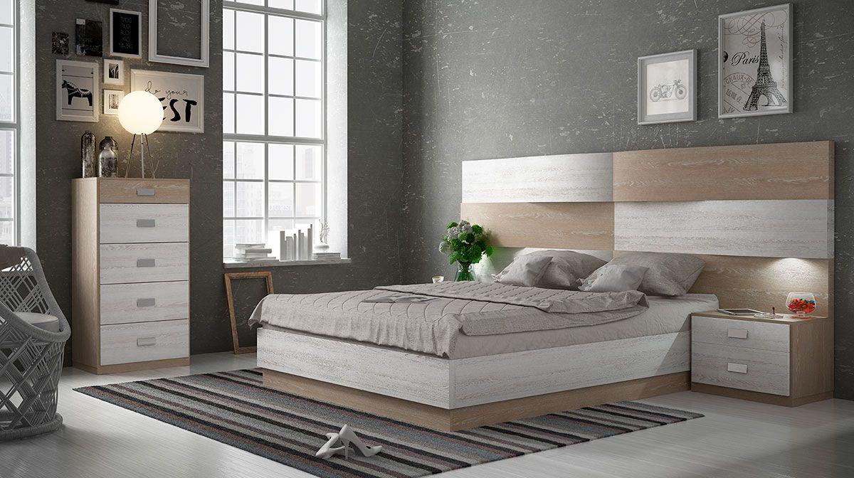 Dormitorios de matrimonio modernos muebles ruiz y gallego - Muebles dormitorio moderno ...