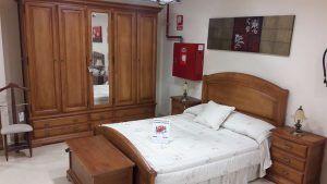 Dormitorio completo pino macizo