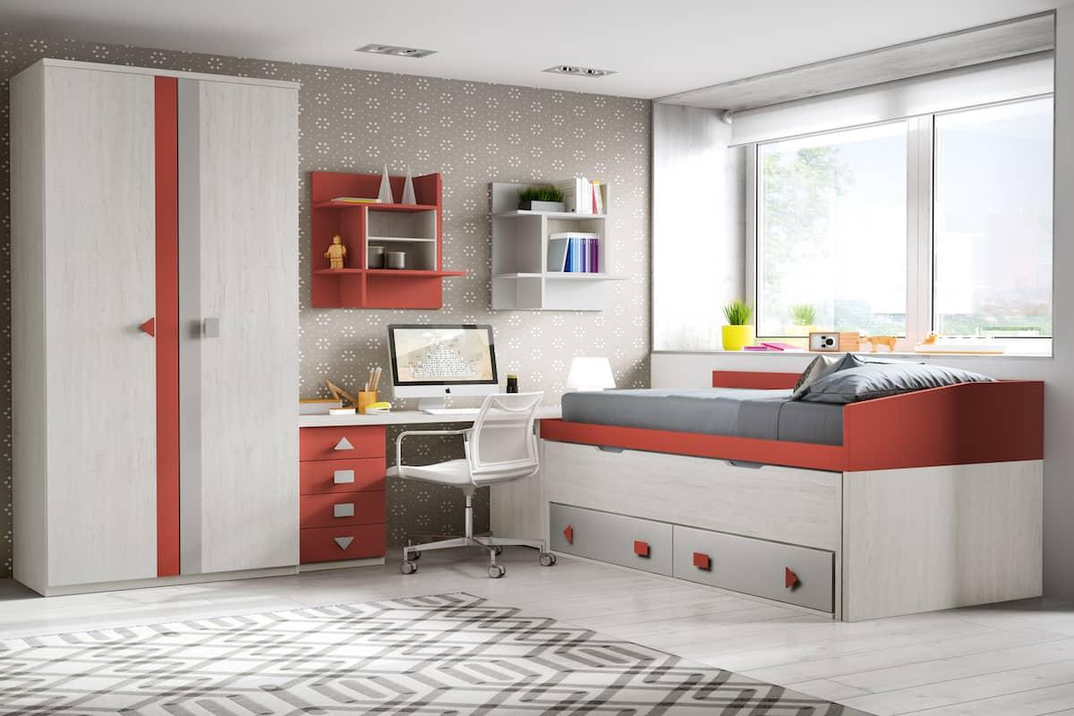 Dormitorios juveniles muebles ruiz y gallego - Dormitorios clasicos juveniles ...